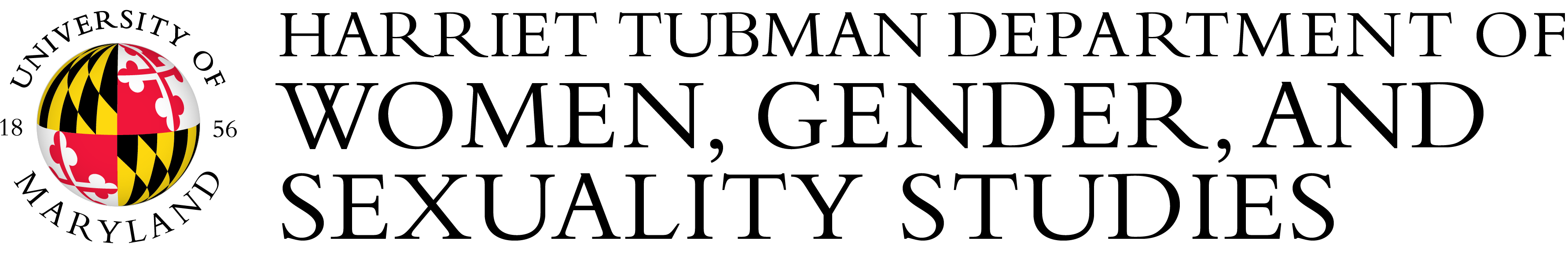 UMD The Harriet Tubman Department of Women, Gender, and Sexuality Studies Logo